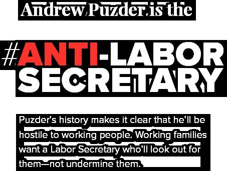 Anti-Labor Secretary